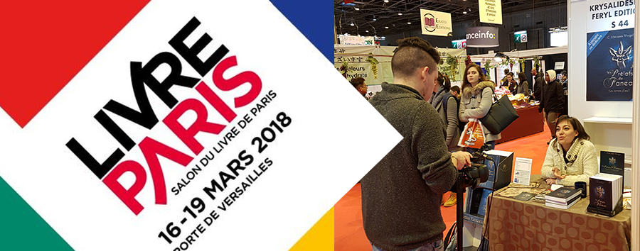 Salon Livre Paris, mars 2018